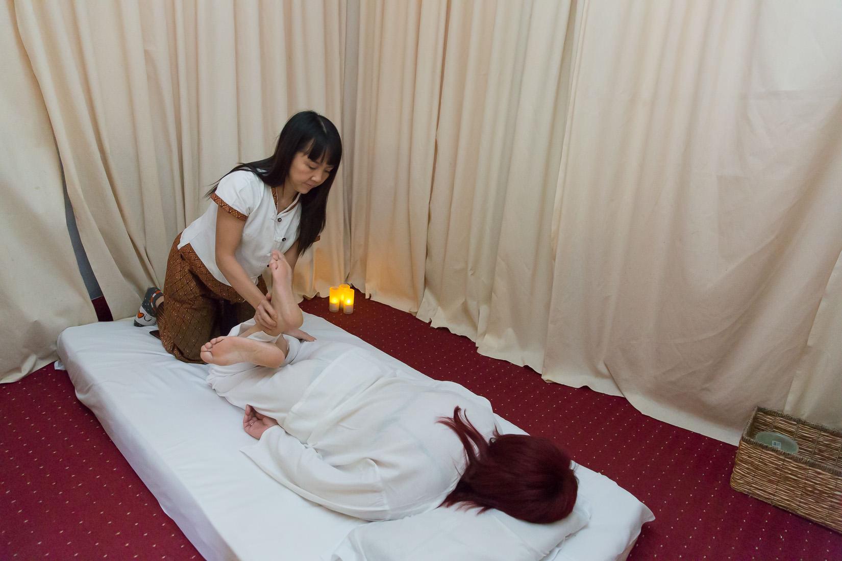 Результат от тайского массажа
